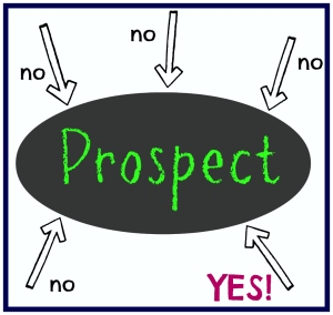 How many times does your prospect need to say NO before they are ready to buy!